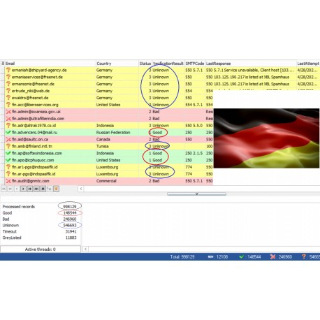 73,000 EU EMAIL ( UPDATE 9/2/2018 ) + RDP with Email Verified Software