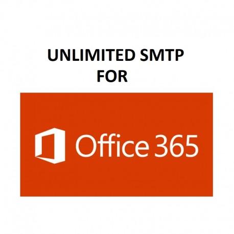 UNLIMITED SMTP SERVER - FULL SPF, DKIM, DMARC CONFIGURED ( NEW & FRESH ) FOR OFFICE365