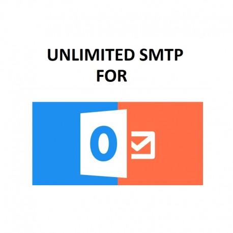 UNLIMITED SMTP SERVER - FULL SPF, DKIM, DMARC CONFIGURED ( NEW & FRESH ) FOR OUTLOOK   HOTMAIL