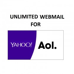 UNLIMITED ROUNDCUBE WEBMAIL SERVER - FULL SPF, DKIM, DMARC CONFIGURED ( NEW & FRESH ) FOR YAHOO | AOL