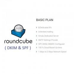 UNLIMITED ROUNDCUBE WEBMAIL SERVER - FULL SPF, DKIM, DMARC CONFIGURED ( NEW & FRESH )